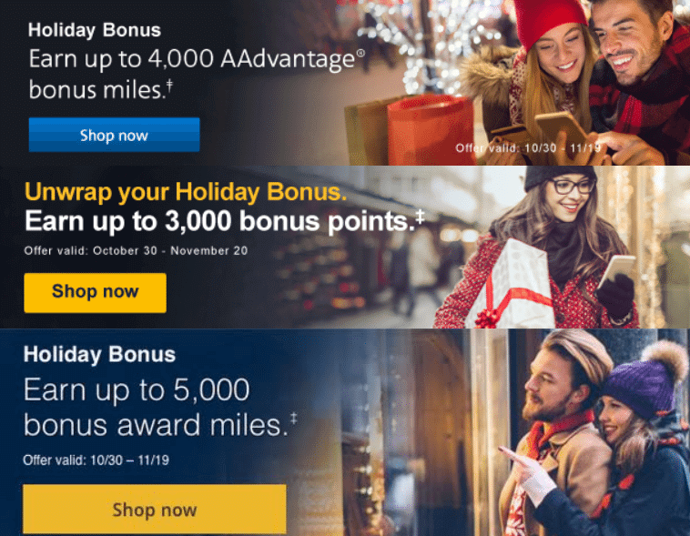 Earn THOUSANDS Of Airline Miles With These Promos Just In Time For Holiday Shopping