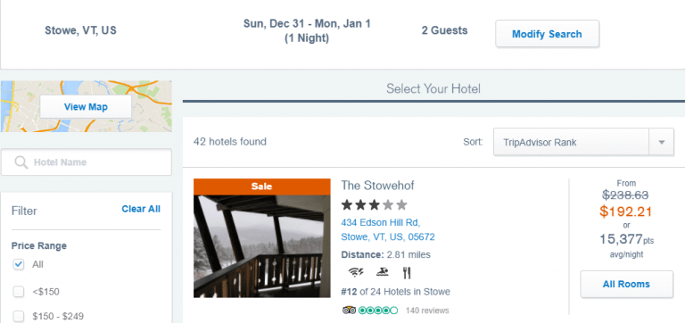 New Years Eve Hotel Discounts