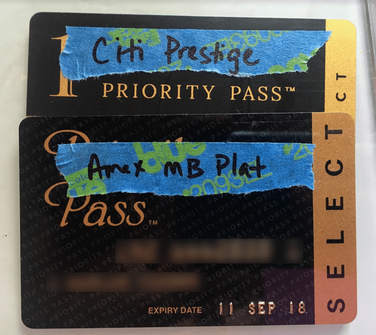 Organize Your Priority Pass Cards
