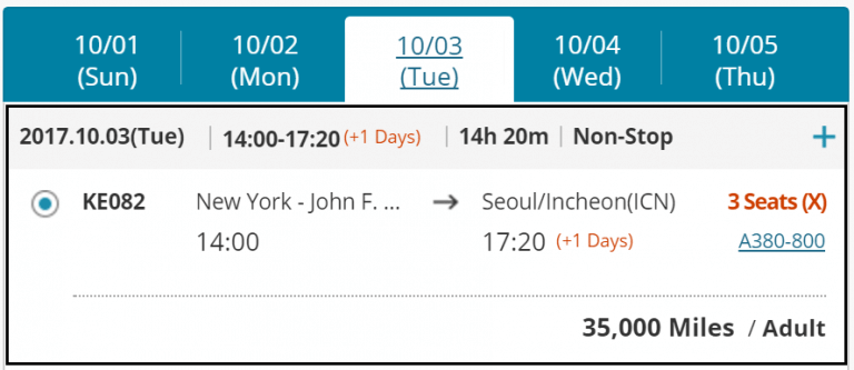 Ultimate Guide To Korean Air Miles Part 2 How To Book Award Flights On Korean Air