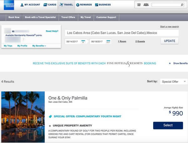 AMEX Platinum Versus Citi Prestige For Booking Hotels