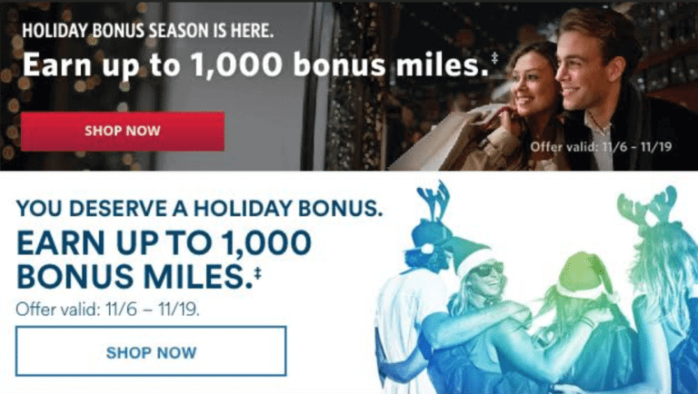Bonus Alaska Airlines and Delta Miles for Holiday Shopping!