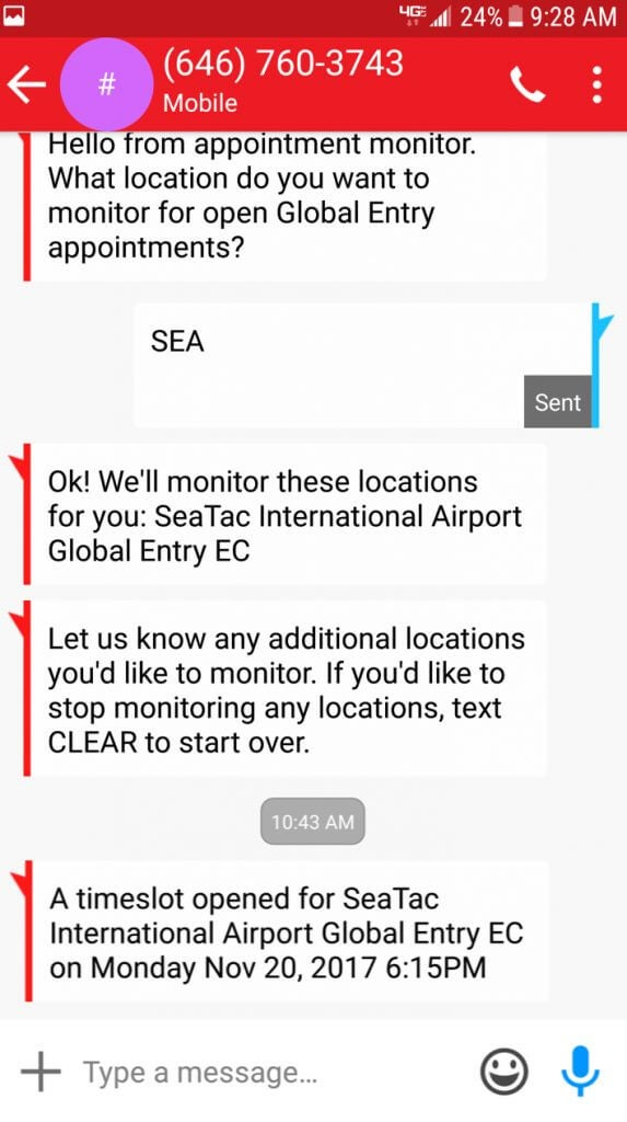 Get Me Global Entry Discount