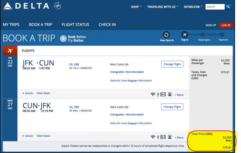 How To Fly To Mexico Caribbean With Limited Time Delta Card Offers