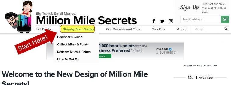 How To Navigate The Million Mile Secrets Site