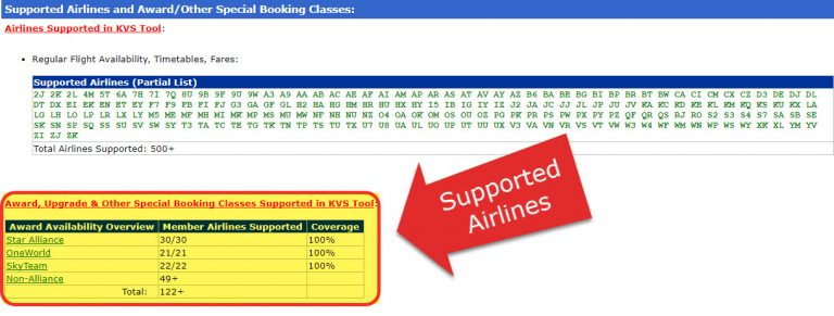 KVS Award Booking Tool