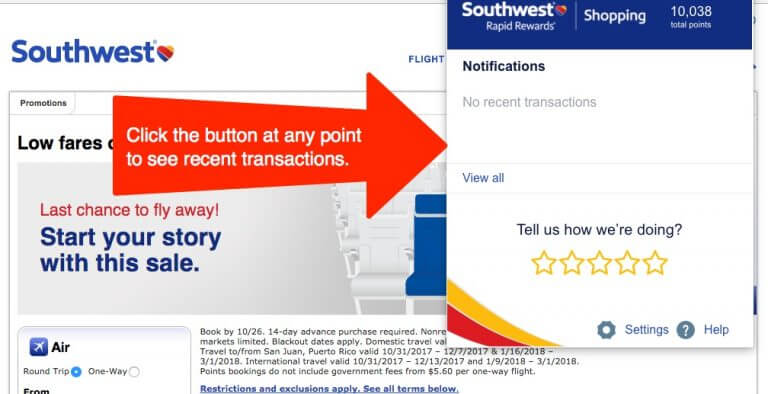 New Trick Earn Southwest Points Shopping Online EASIER Than Ever With This Tool