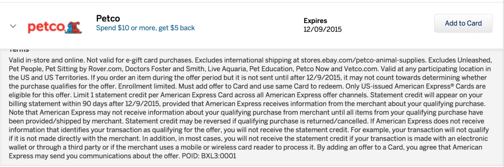 amex-offer-petco-Screen Shot 2015-11-09 at 9.05.18 AM