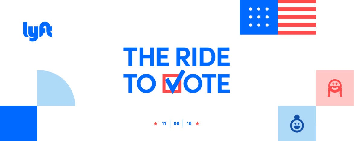Uber and Lyft Will Give You Free Rides to Voting Booths on Election Day