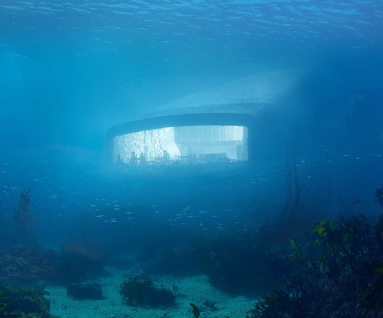 Now Taking Reservations:  Earth's Largest Underwater Restaurant