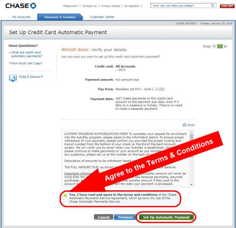 Never Pay Interest on Your Chase Cards Again With This