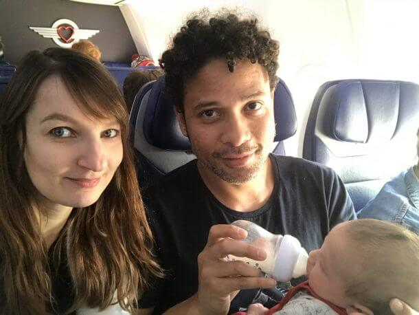 3 For 1 Flights For 20 TOTAL Thanks To The Southwest Companion Pass And A Lap Child Baby Arya
