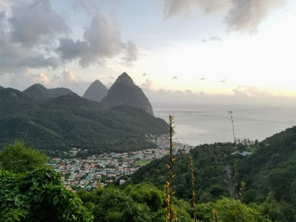 Pitons Hot Springs And 5 Star Resorts A Trip To Soufriere Saint Lucia