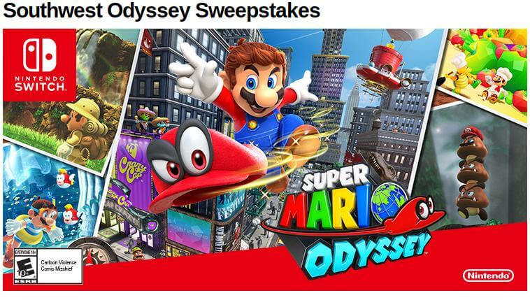 Southwest Nintendo sweepstakes