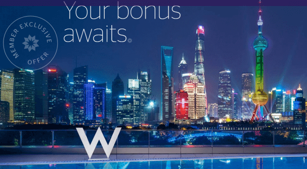 Targeted Bonus Points Elite Credits And More For Staying At Starwood Hotels