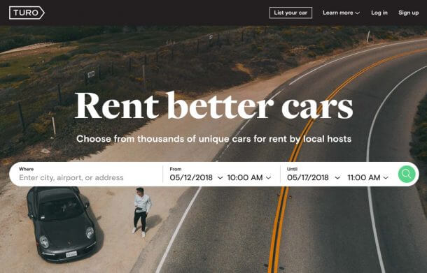 Turo Car Rental Review
