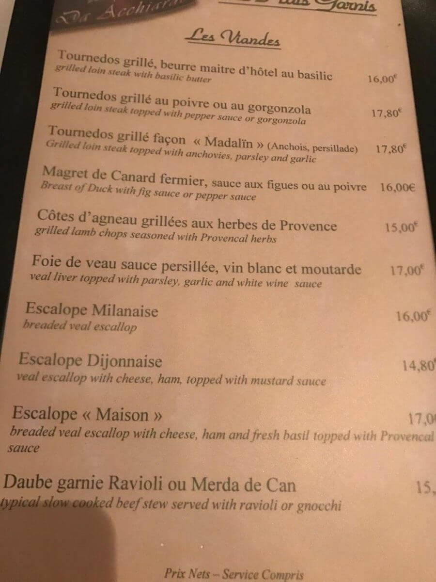 How A Family Of 4 Visited Nice France In Business Class For 500 Each Part 5 Where To Eat