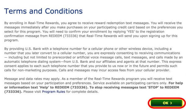 How To Activate US Bank Real Time Rewards