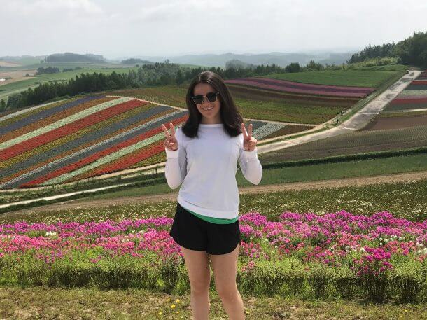 Reader Success Sampling Lavender Ice Cream Exploring Gigantic Flower Fields And Peering Into North Korea