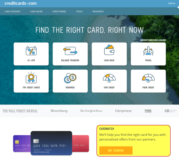 Step By Step Guide To Finding Increased Credit Card Offers With CardMatch