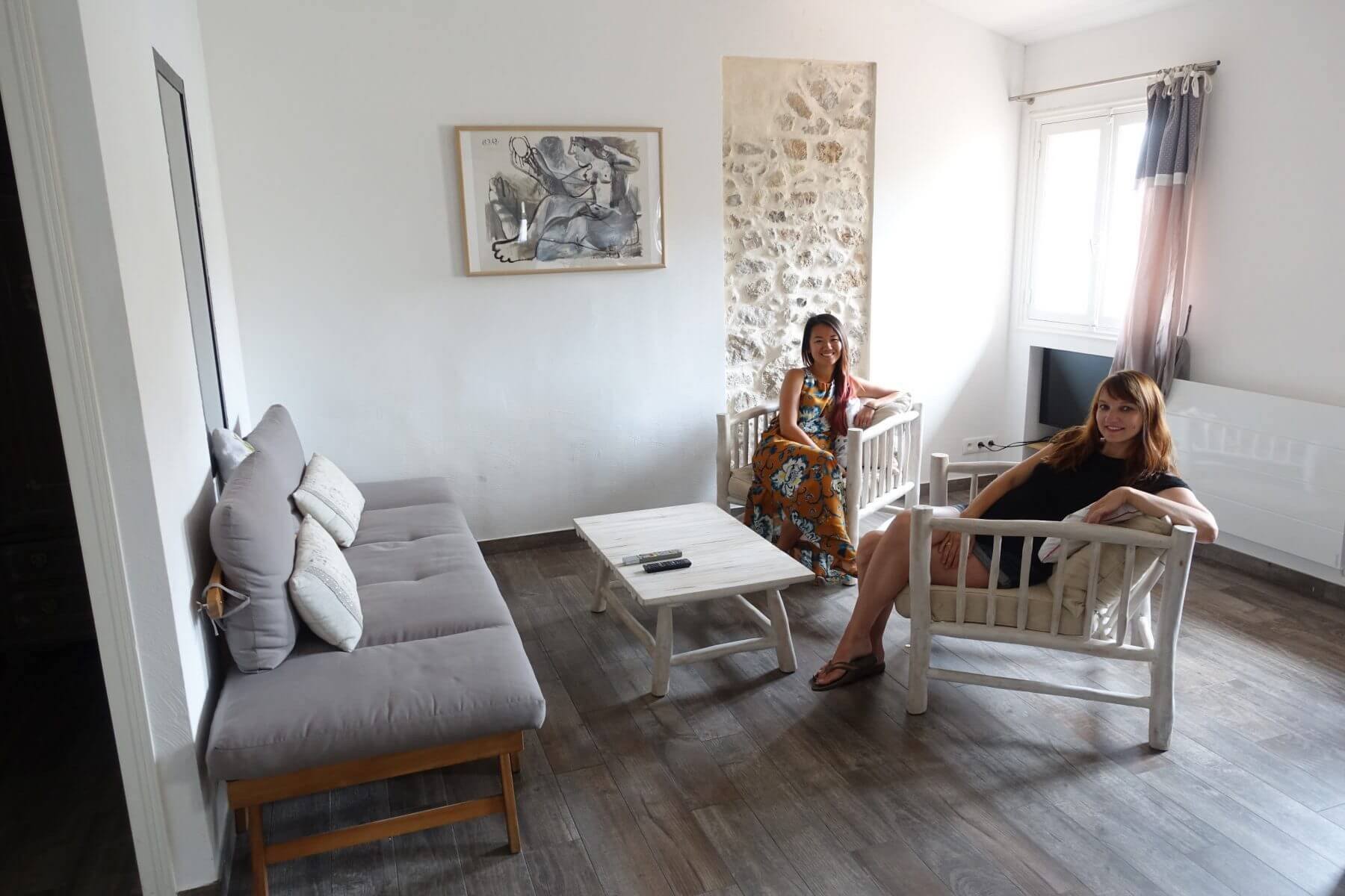 Our Airbnb in Antibes Was Full of Natural Light