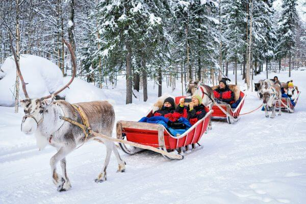 I'd Use the $4,500 Travel Sweepstakes Prize to Visit Santa & His Reindeer in Lapland, Finland!