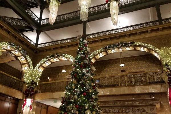 How I Got $150 In Credits During My Christmas Week Stay With Marriott (Without Being a Jerk About It!)