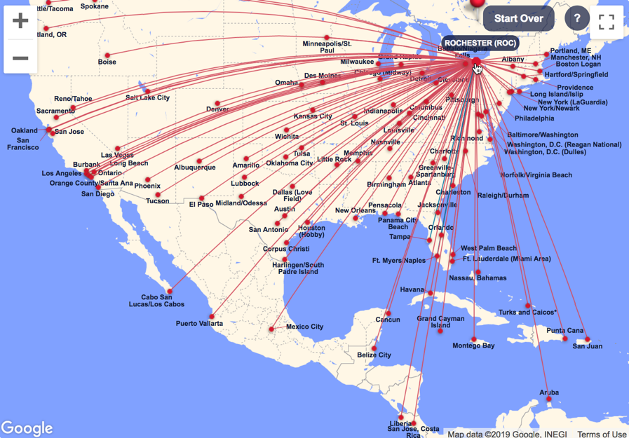 Southwest Destination Map Check Out These Amazing Southwest International Destinations for