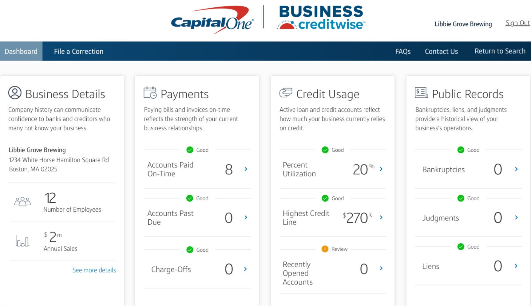 New helpful Capital One tool free for all small businesses