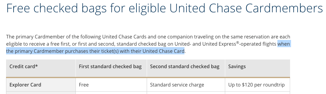 How to Use the Free Checked Bag Perk From Your United