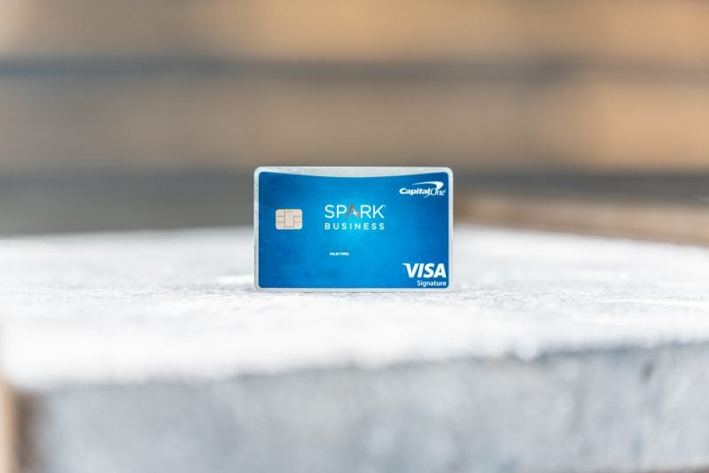 capital one spark business credit card offers  million