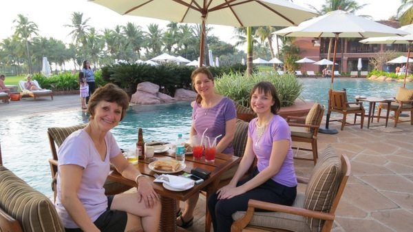 Mother-In-Law's First Trip to India:  Park Hyatt Goa Activities