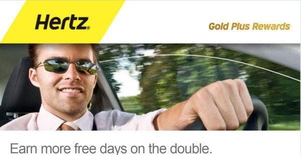 News You Can Use - Double Points on $13.49 Hertz Rentals