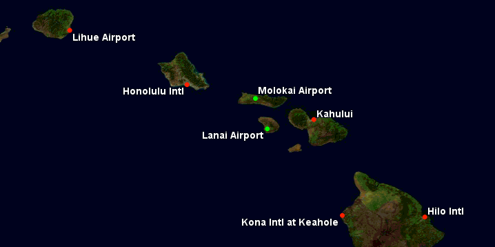 hawaii airports
