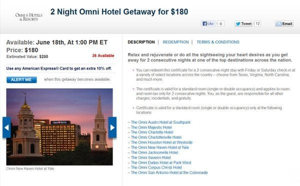 Daily Getaways Omni Hotels