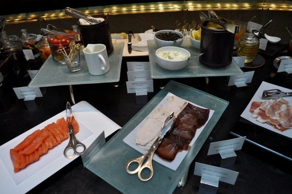 Park Hyatt Paris Buffet & a Day of Shopping