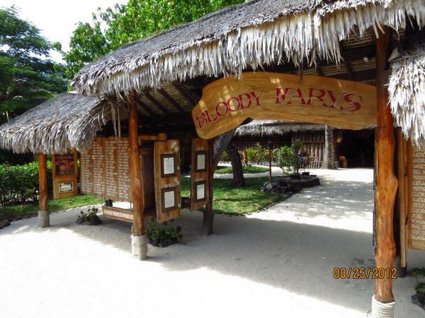 Food in Bora Bora