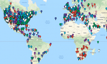 Complete map of Marriott hotels (with award prices) - featured image