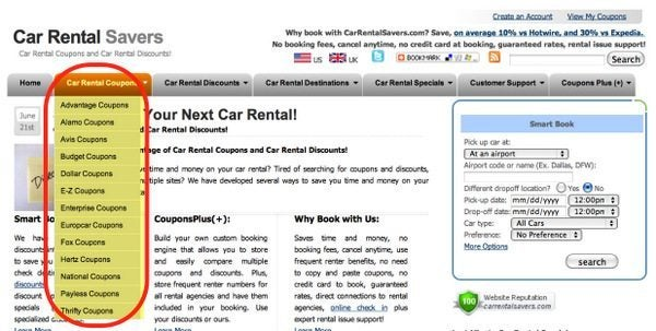 Cheap Car Rentals: Part 11 – Car Rental Savers
