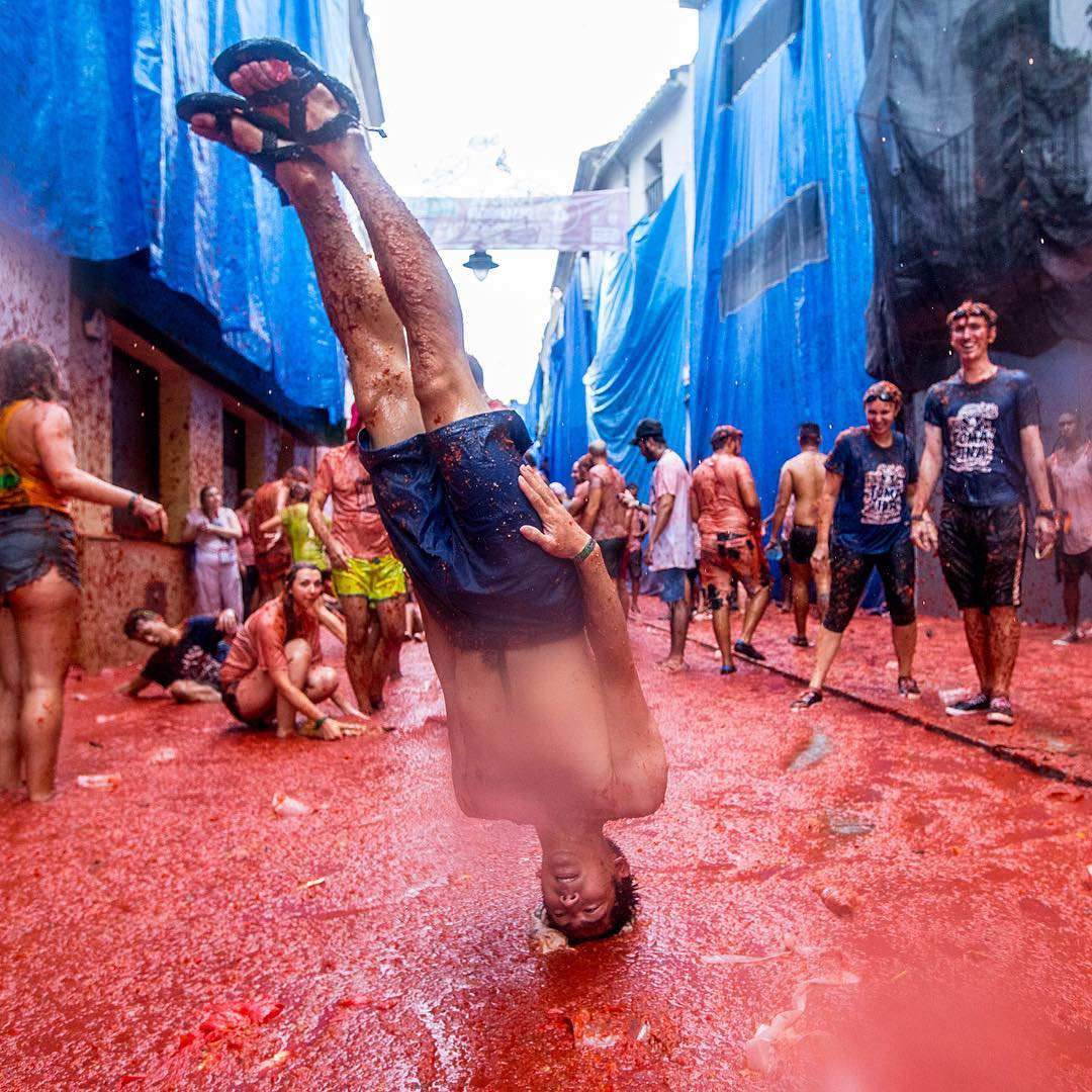 5 Crazy Photos from the World's Biggest Food Fight Festival