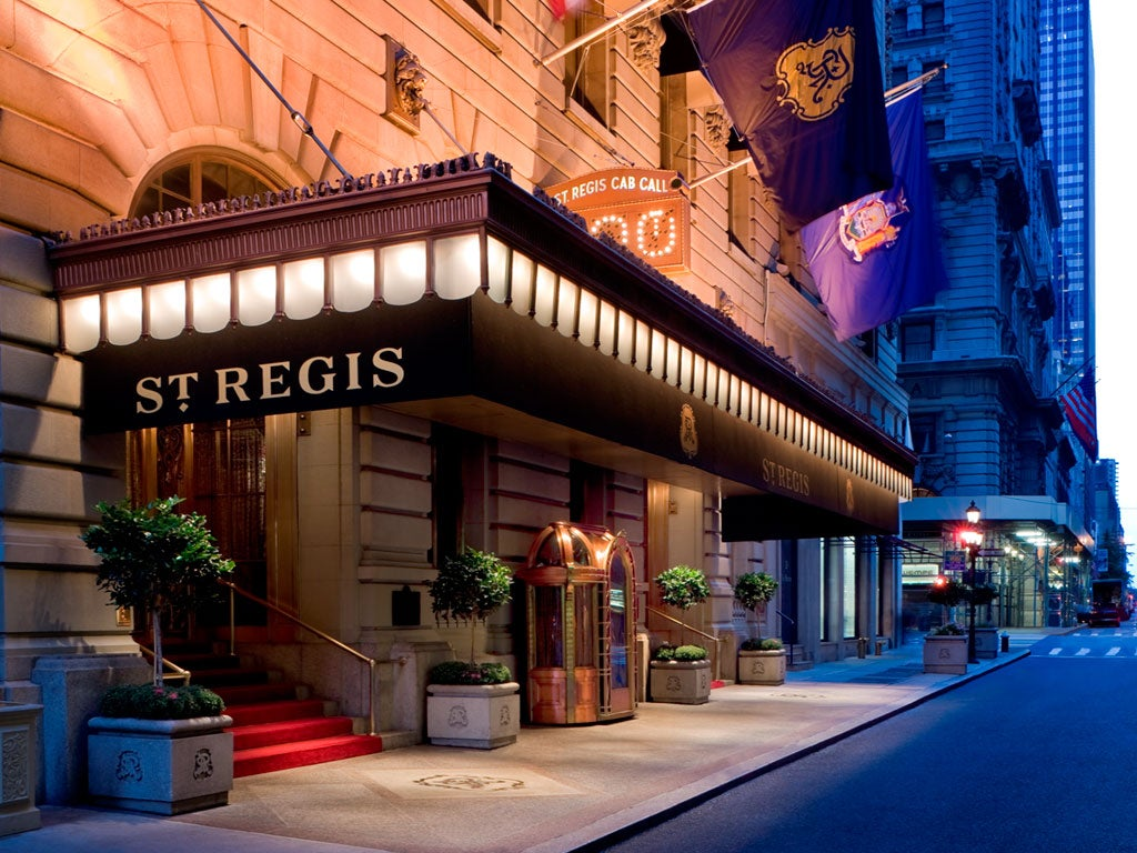 The St Regis New York Is an Ultra Premium Hotel Available With Marriott Points and is a City Classic