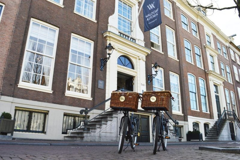 Points and Perks Earned From Hilton Credit Cards Can Take You All Around the World Like to the Waldorf Astoria Amsterdam Which is Eligible to Stay at for Free With a Free Weekend Night Certificate.