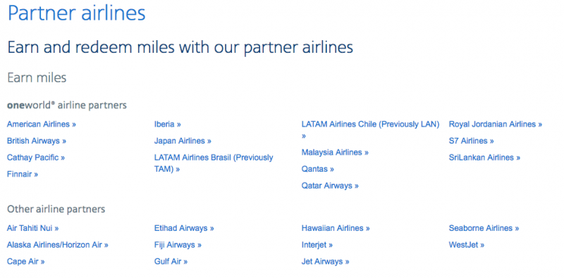 American Airlines Has Many Partners So You Have Quite A Few Flight Redemption Options Note That Cannot Redeem Miles For All Other