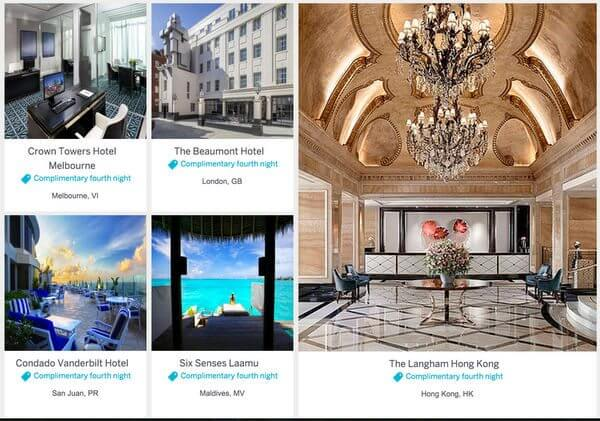 AMEX Fine Hotels And Resorts