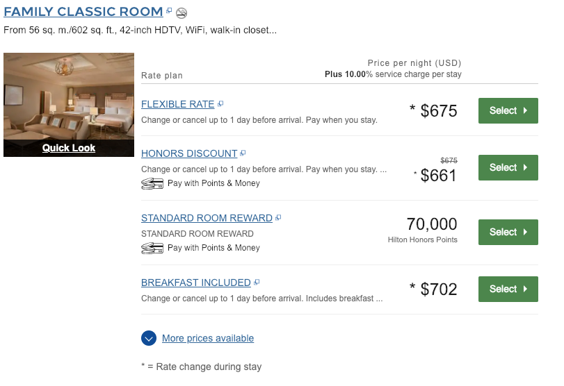 Waldorf Astoria Room Pricing and Availability