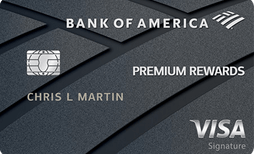 Bank of America®️ Premium Rewards®️ Visa®️ credit card