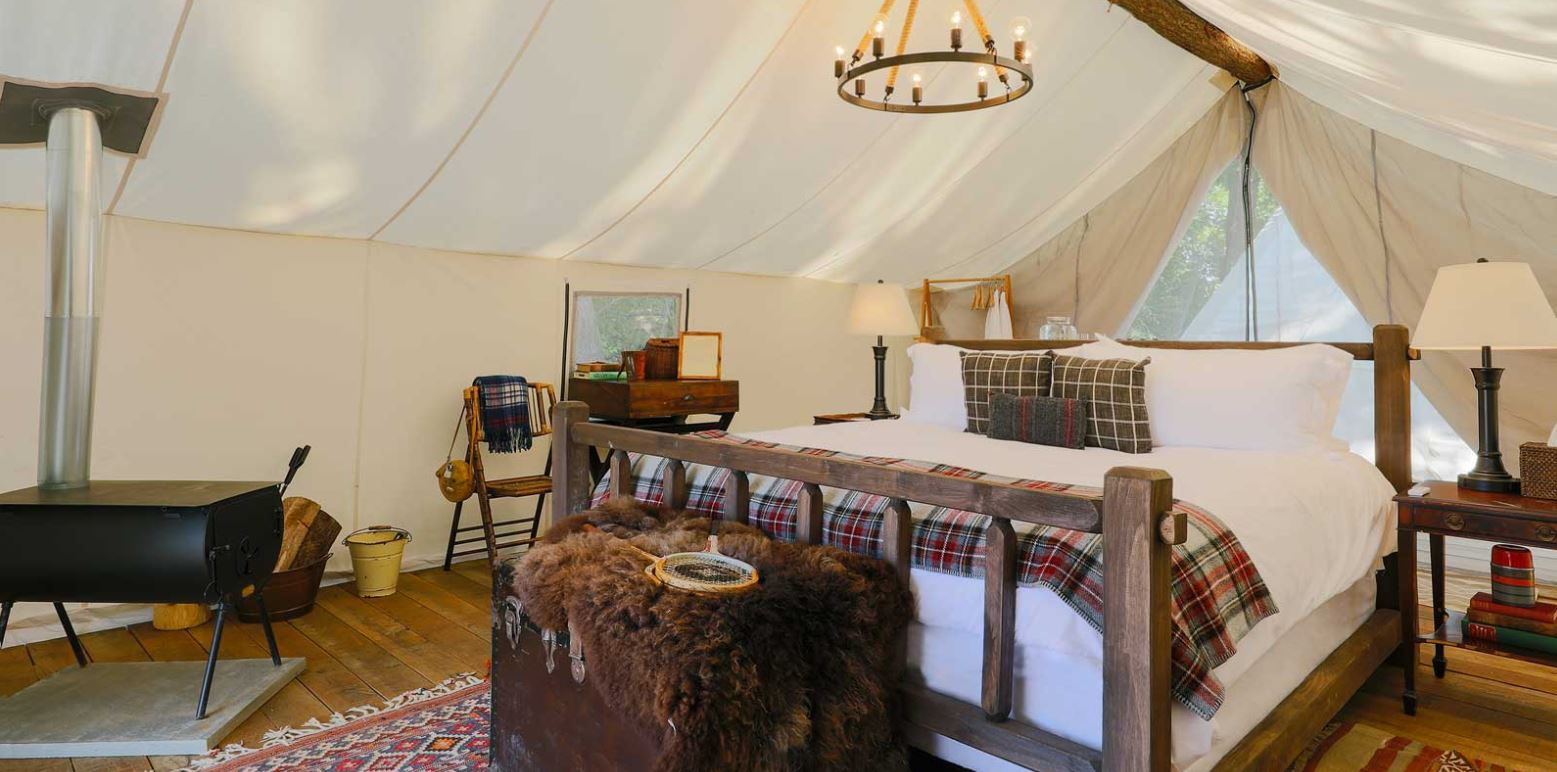 3 Best Destinations to Experience Glamping (aka Camping in Style)