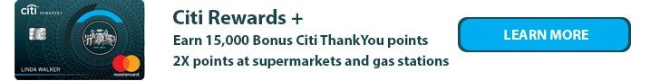 Citi Rewards+ Banner