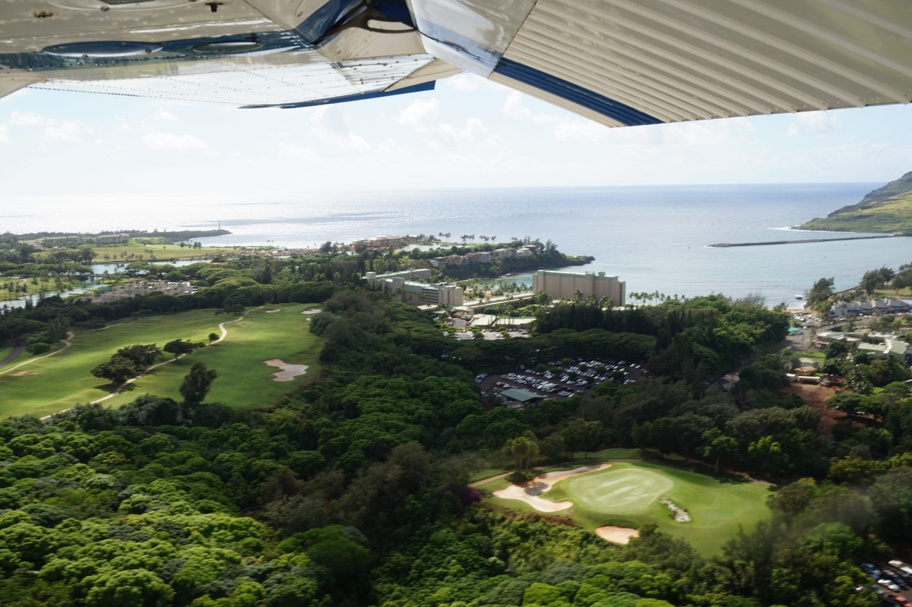 American express starwood business card review million mile secrets the marriott kauai beach club from our flight over kauai you can stay here for free with points earned from your amex starwood small business card reheart Image collections