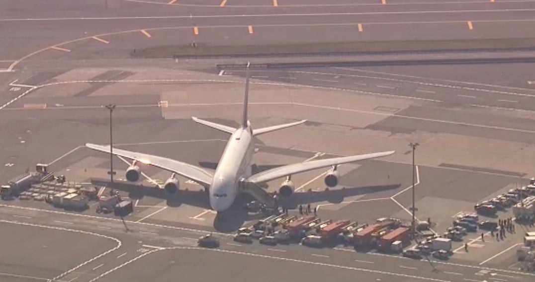 Developing Story:  Emirates Flight Quarantined at New York (JFK)
